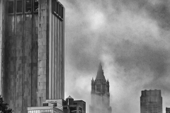 Woolworth Building in Fog - 514