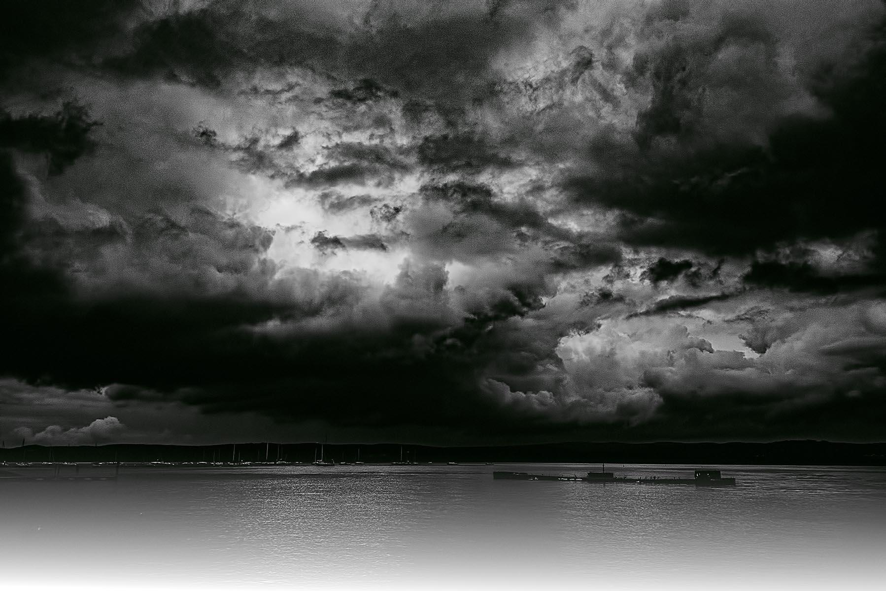 Sunken Barge Hudson River - 493