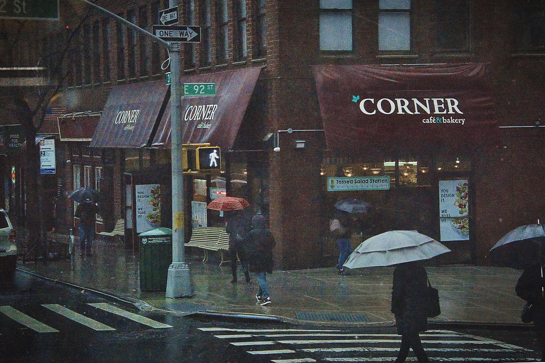 Rainy Day on the Corner - 492