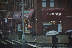 Rainy Day on the Corner - 492